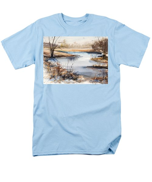 Peaceful Stream Men's T-Shirt  (Regular Fit) by Judith Levins