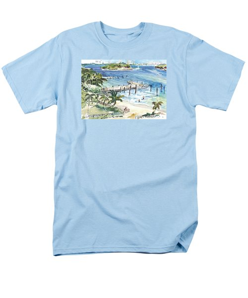 Peanut Island Men's T-Shirt  (Regular Fit)