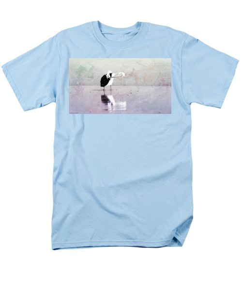 Men's T-Shirt  (Regular Fit) featuring the photograph Pelican Art 0002 by Kevin Chippindall