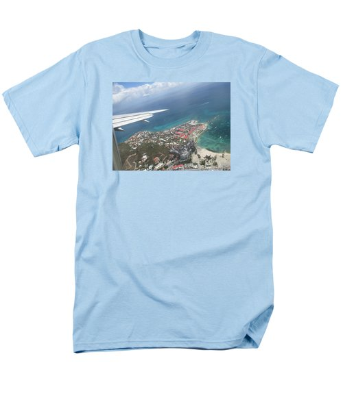 Pelican Key St Maarten Men's T-Shirt  (Regular Fit) by Christopher Kirby