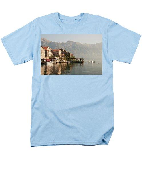 Perast Restaurant Men's T-Shirt  (Regular Fit) by Phyllis Peterson