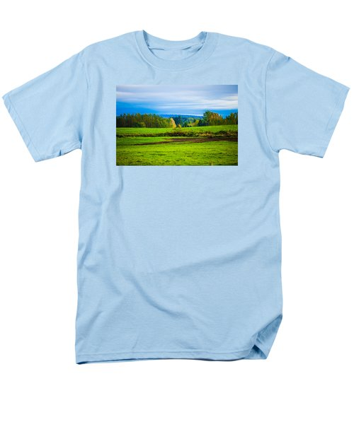 Perfect Place For A Meadow Men's T-Shirt  (Regular Fit)