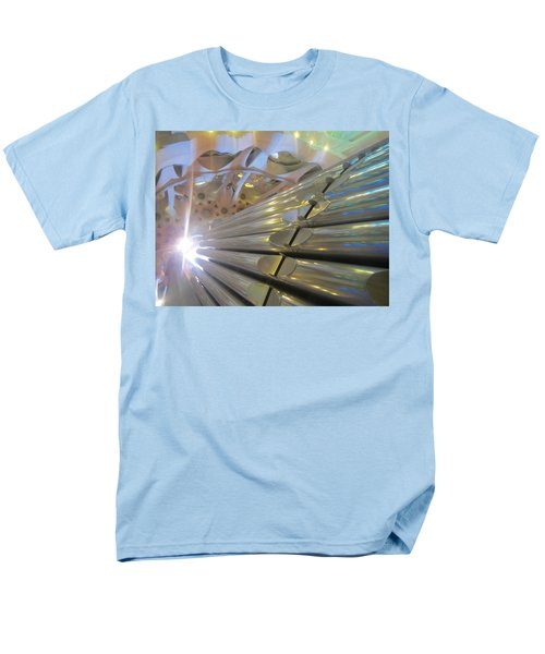 Men's T-Shirt  (Regular Fit) featuring the photograph Pipe Organ Of La Sagrada by Christin Brodie