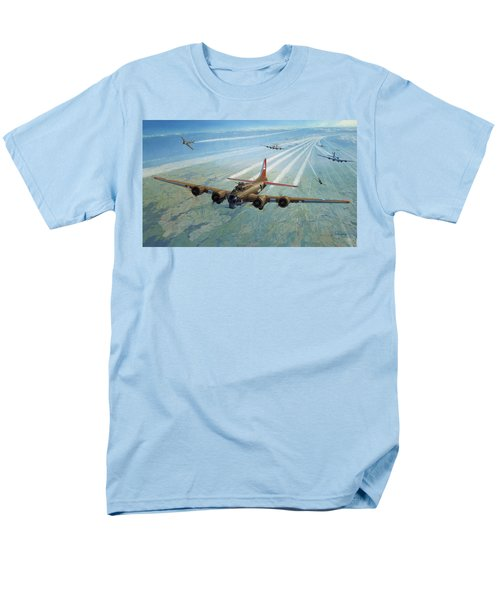 Men's T-Shirt  (Regular Fit) featuring the photograph Plane by Test