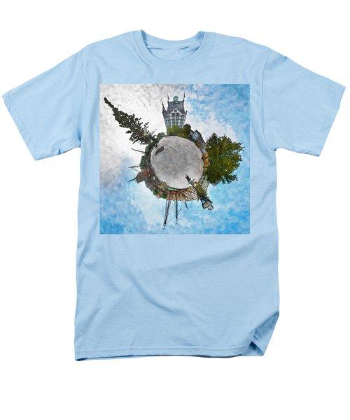 Planet Gelderseplein Rotterdam Men's T-Shirt  (Regular Fit) by Frans Blok