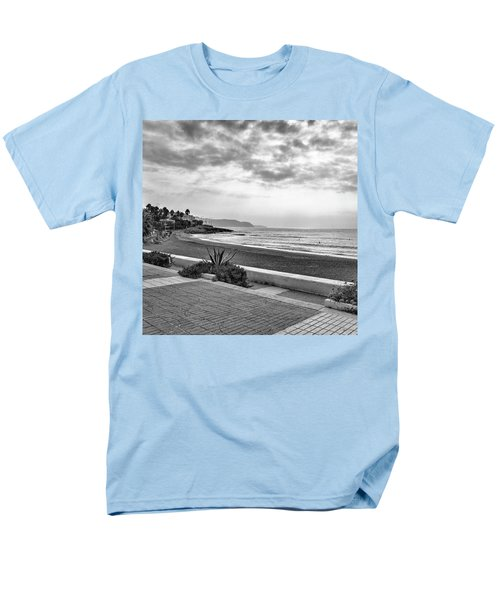 Playa Burriana, Nerja Men's T-Shirt  (Regular Fit) by John Edwards