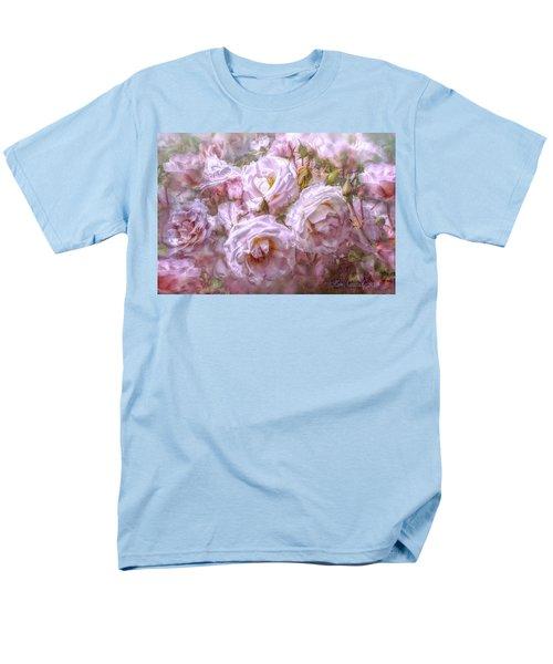 Men's T-Shirt  (Regular Fit) featuring the digital art Pocket Full Of Roses by Kari Nanstad