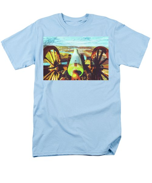 Point Park Cannon Men's T-Shirt  (Regular Fit) by Steven Llorca