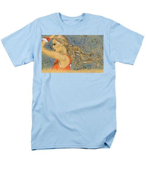 Ponytail Run Men's T-Shirt  (Regular Fit) by P J Lewis