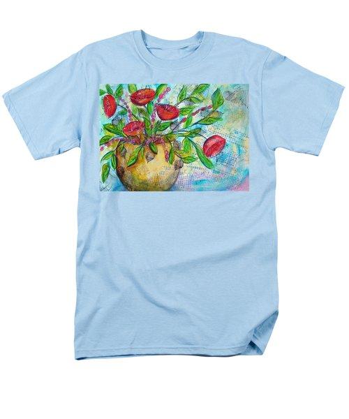 Poppies Men's T-Shirt  (Regular Fit) by Karin Husty