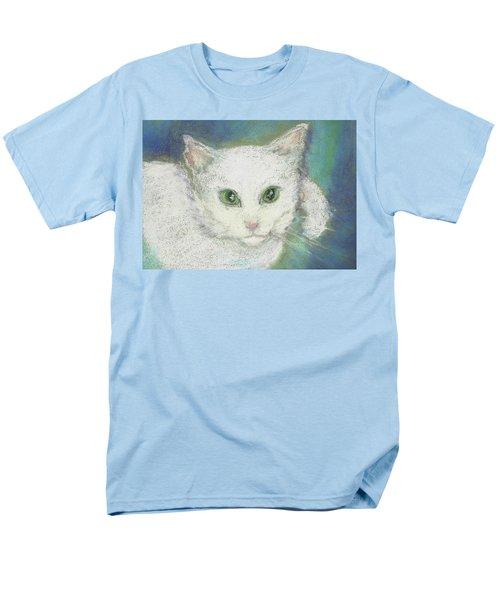 Portrait Of Misty Men's T-Shirt  (Regular Fit) by Denise Fulmer