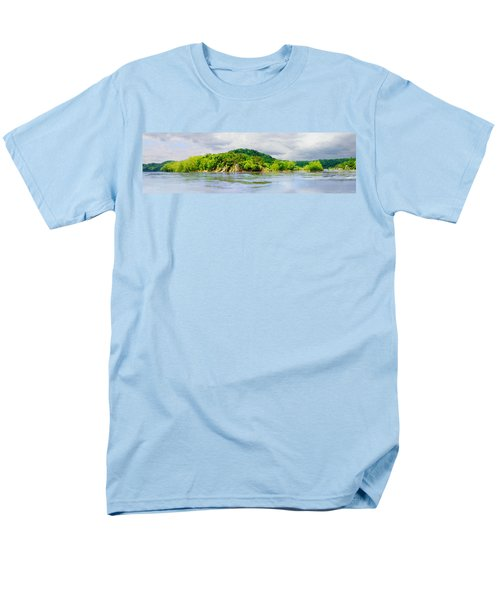 Men's T-Shirt  (Regular Fit) featuring the photograph Potomac Palisaides by Francesa Miller