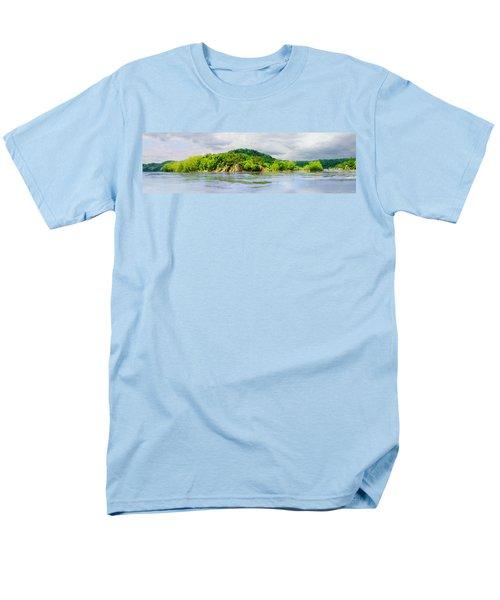 Potomac Palisaides Men's T-Shirt  (Regular Fit) by Francesa Miller