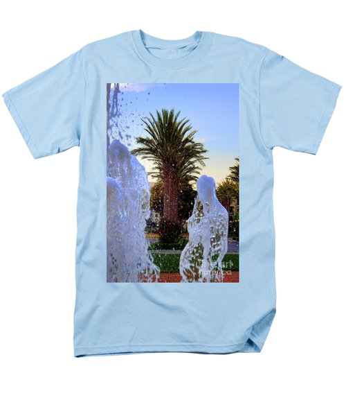 Men's T-Shirt  (Regular Fit) featuring the photograph Pregnant Water Fairy by Mariola Bitner