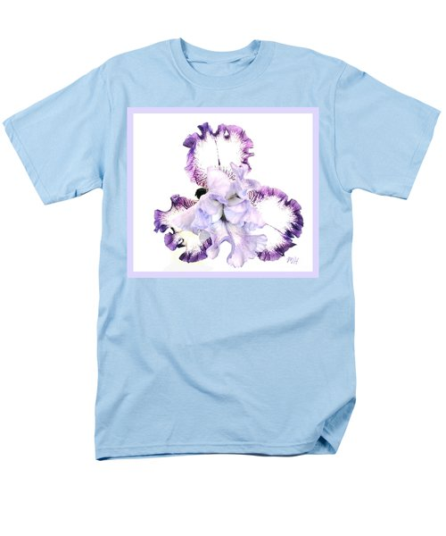 Pretty Baby Iris Men's T-Shirt  (Regular Fit) by Marsha Heiken