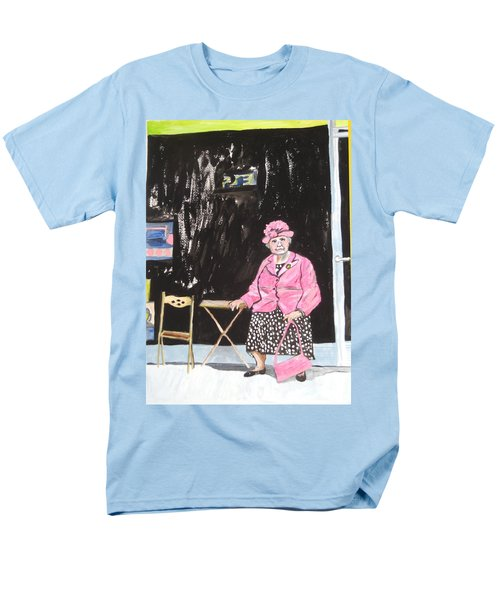 Pretty In Pink Men's T-Shirt  (Regular Fit) by Esther Newman-Cohen