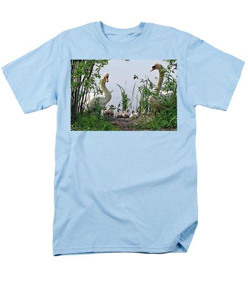 Protective Parents Men's T-Shirt  (Regular Fit) by Joe Faherty