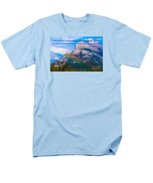 Psalm 121   1-2 Men's T-Shirt  (Regular Fit) by John Roberts