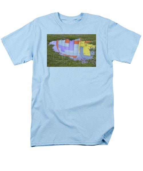 Puddle Reflections Men's T-Shirt  (Regular Fit) by Linda Geiger