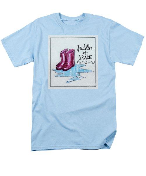 Puddles Of Grace Men's T-Shirt  (Regular Fit) by Elizabeth Robinette Tyndall
