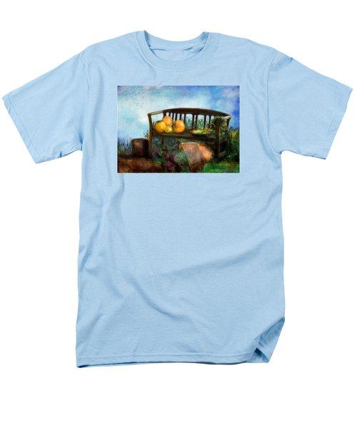 Pumpkin Harvest Respite Men's T-Shirt  (Regular Fit) by Colleen Taylor