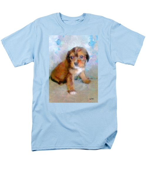 Puppy Love Men's T-Shirt  (Regular Fit) by Wayne Pascall
