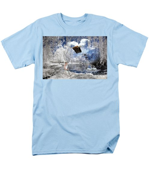 Pure Hearted Warrior Men's T-Shirt  (Regular Fit) by Dolores Develde