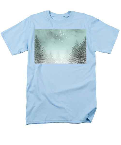 Men's T-Shirt  (Regular Fit) featuring the painting Purpose Driven by Trilby Cole