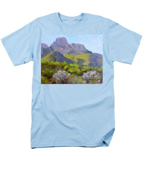 Pusch Ridge II Men's T-Shirt  (Regular Fit) by Susan Woodward