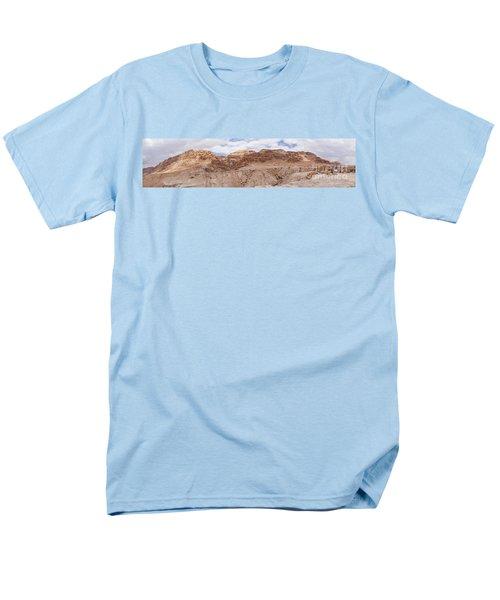 Men's T-Shirt  (Regular Fit) featuring the photograph Qumran National Park by Yoel Koskas