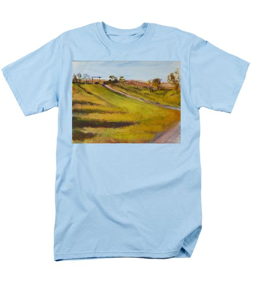 Ranch Entrance Men's T-Shirt  (Regular Fit) by Helen Campbell