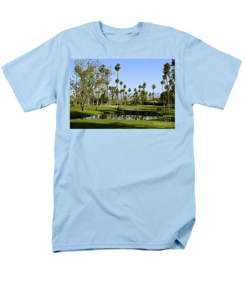 Rancho Mirage Golf Course Men's T-Shirt  (Regular Fit) by Nina Prommer