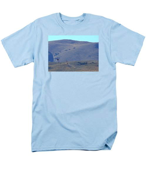 Rare Bear Challenges Voodoo For Second Coming Out Of Valley Of Speed Men's T-Shirt  (Regular Fit)