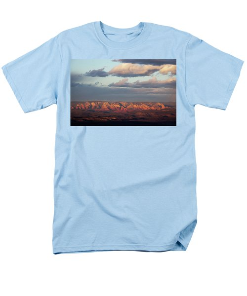 Red Rock Crossing, Sedona Men's T-Shirt  (Regular Fit) by Ron Chilston