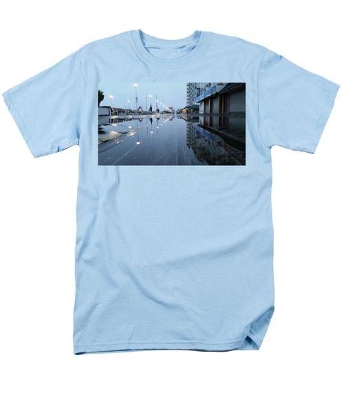 Reflections Of The Boardwalk Men's T-Shirt  (Regular Fit)