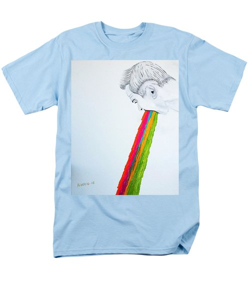 Men's T-Shirt  (Regular Fit) featuring the painting Regurgitate by Edwin Alverio