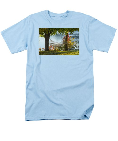Relax By The Water Men's T-Shirt  (Regular Fit) by Alana Ranney