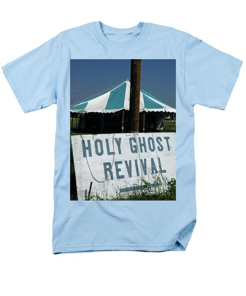 Men's T-Shirt  (Regular Fit) featuring the photograph Revival Tent by Joe Jake Pratt