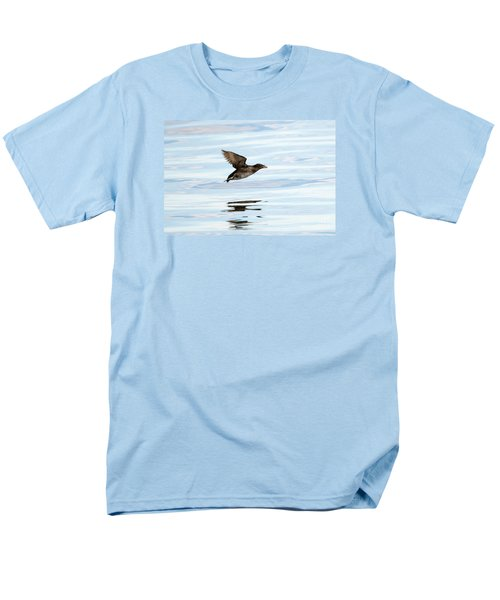 Rhinoceros Auklet Reflection Men's T-Shirt  (Regular Fit) by Mike Dawson