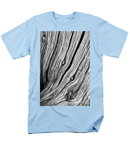 Men's T-Shirt  (Regular Fit) featuring the photograph Ridges - Bw by Werner Padarin