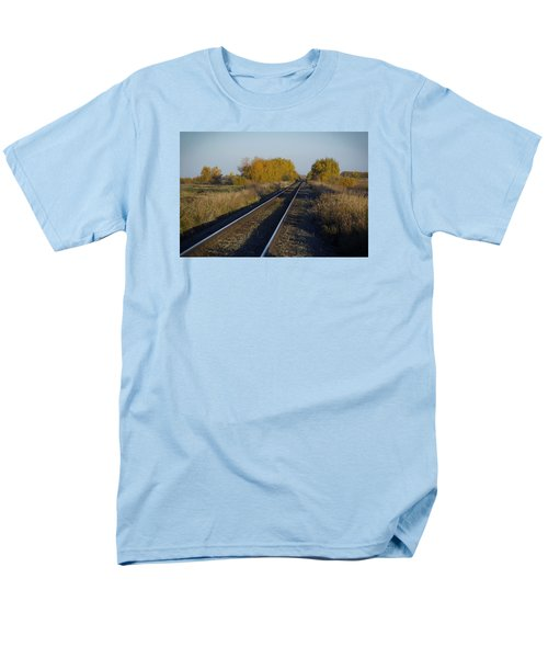 Riding The Rails Men's T-Shirt  (Regular Fit) by Ellery Russell