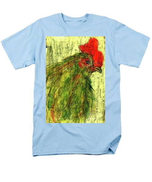 Men's T-Shirt  (Regular Fit) featuring the drawing Rise And Shine  by P J Lewis