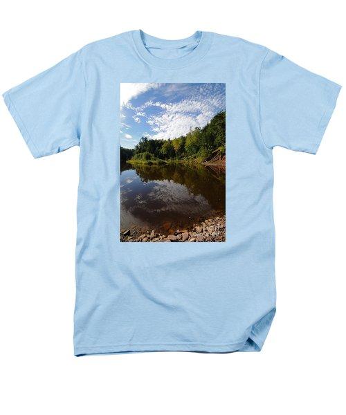 Men's T-Shirt  (Regular Fit) featuring the photograph River Beauty by Sandra Updyke