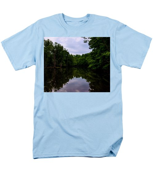 Men's T-Shirt  (Regular Fit) featuring the digital art River Reflections by Chris Flees