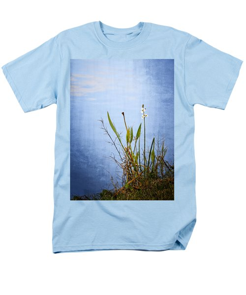 Men's T-Shirt  (Regular Fit) featuring the photograph Riverbank Beauty by Carolyn Marshall