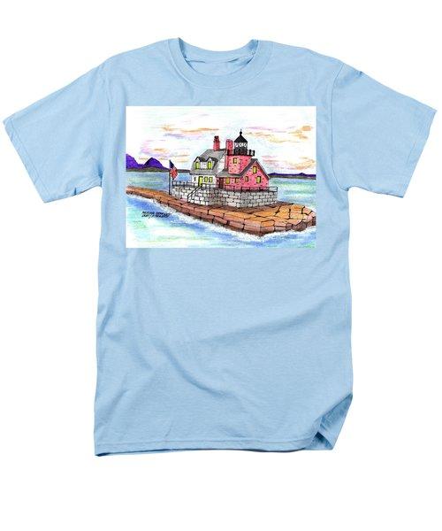 Rockland Breakwater Light Men's T-Shirt  (Regular Fit)