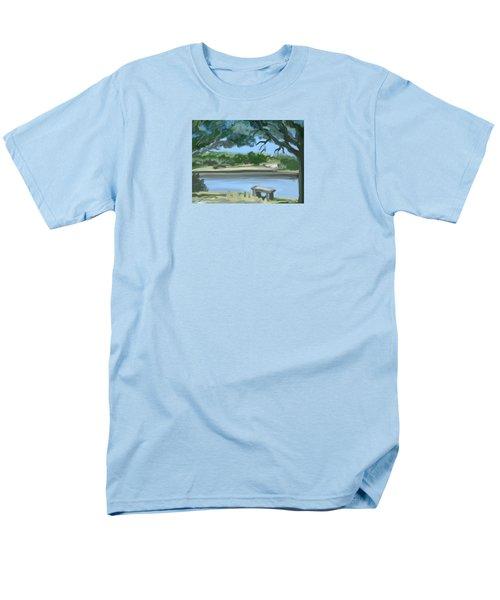 Rosemary Lake Men's T-Shirt  (Regular Fit) by Jean Pacheco Ravinski