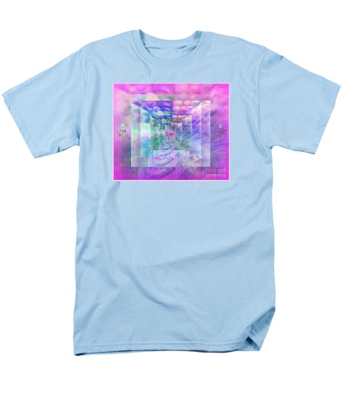 Roses Are Red Violets Are Blue These Roses Are Just For You Men's T-Shirt  (Regular Fit) by Sherri's Of Palm Springs