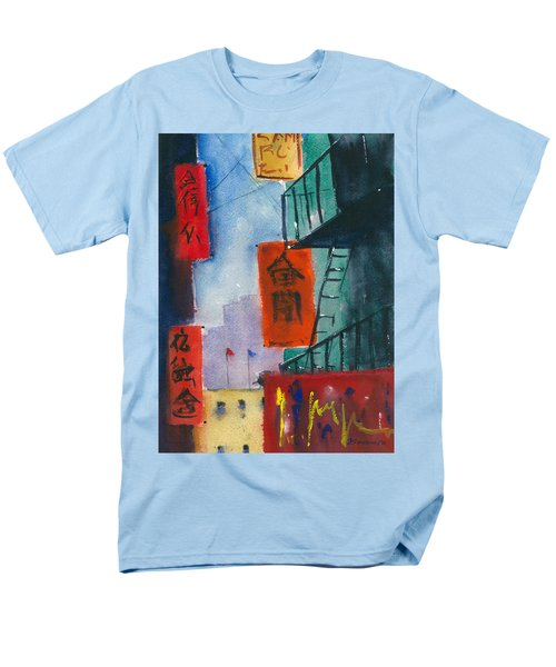 Ross Alley, Chinatown Men's T-Shirt  (Regular Fit) by Tom Simmons