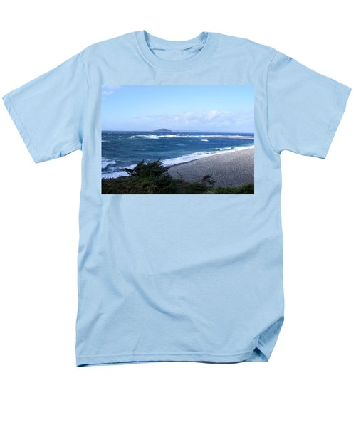 Rough Day On The Point Men's T-Shirt  (Regular Fit) by Barbara Griffin